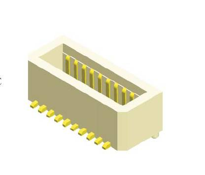 0.8mm board to board female connector