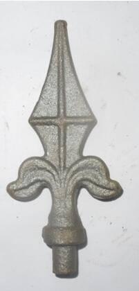 Cast steel spear