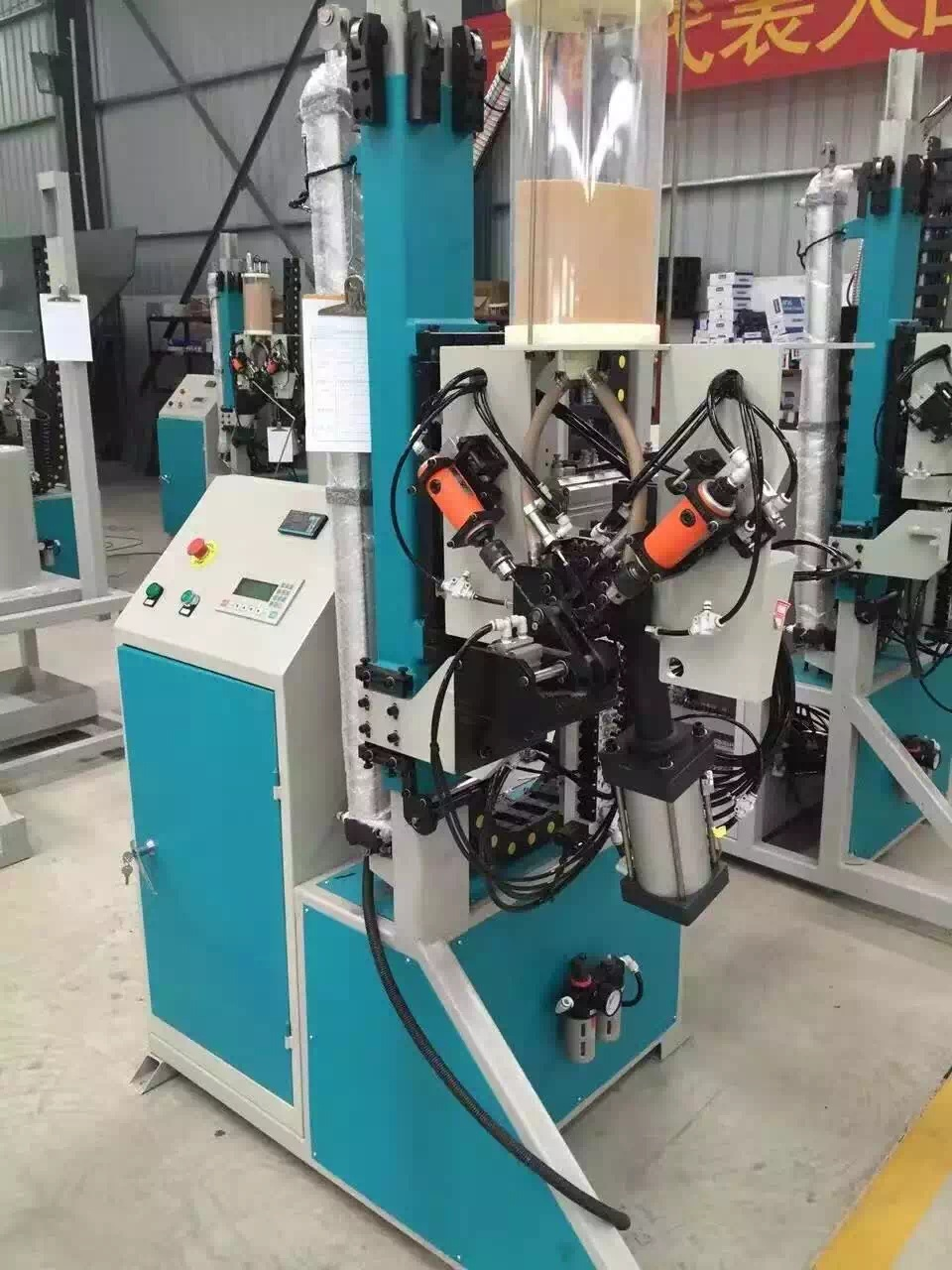 Automatic desiccant filling machine of insulating glass processing machinery