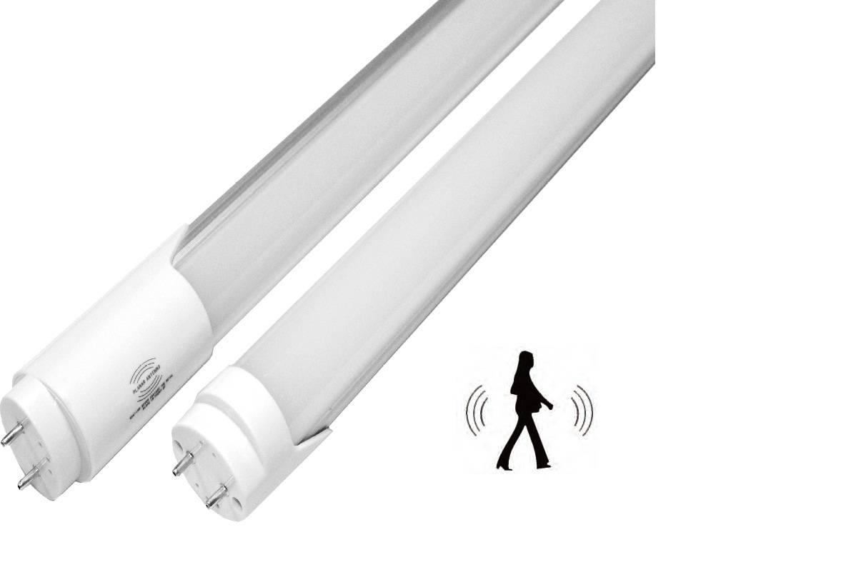 Radar sensor LED tube