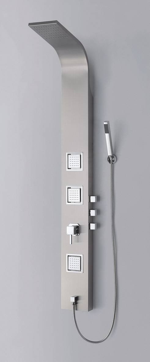 modern rainfall massage bathroom shower panel