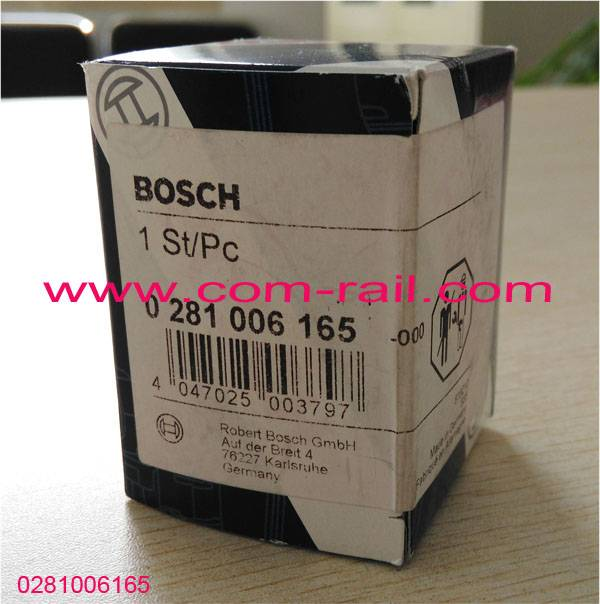 original bosch rail fuel pressure sensor 0281006165