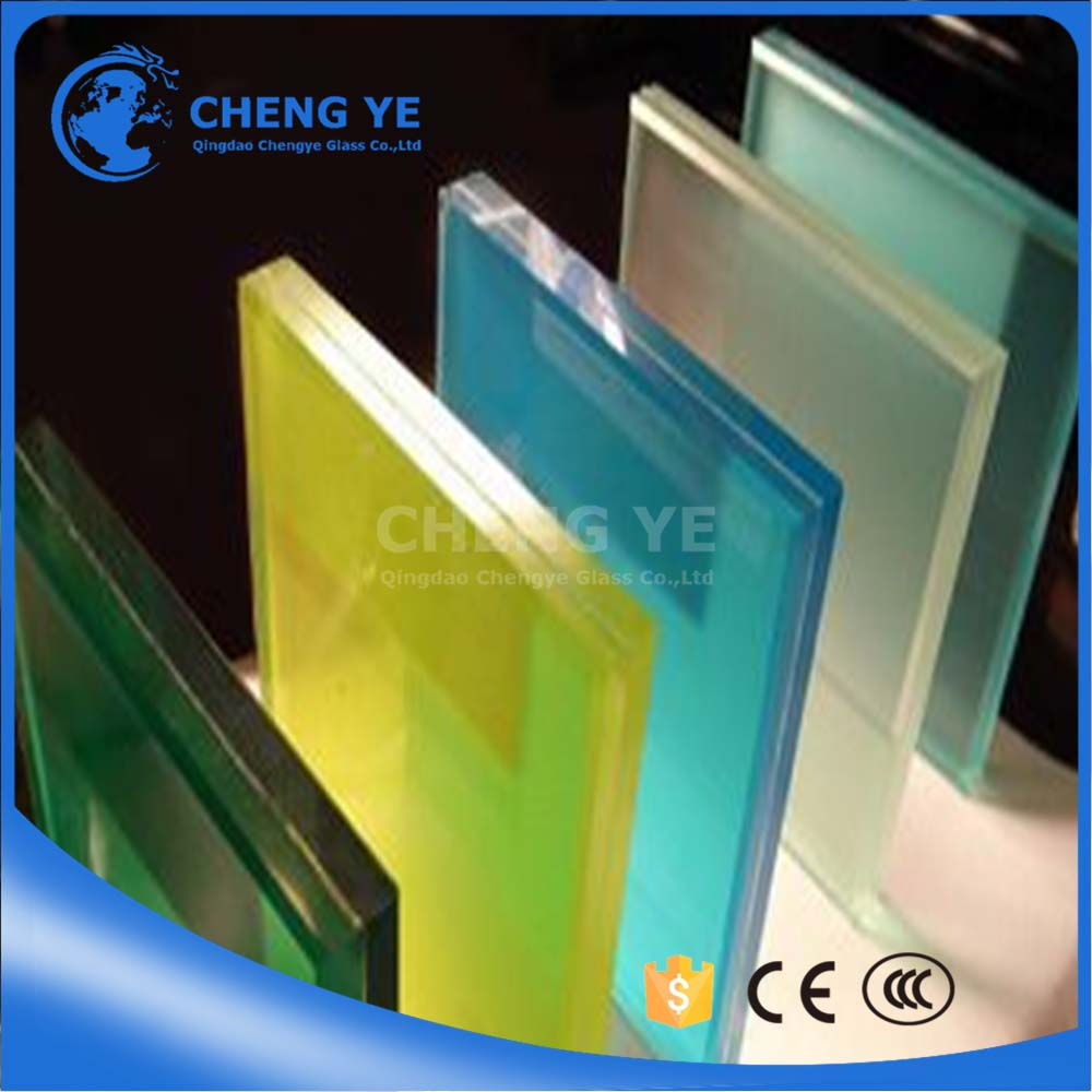 Hot Sale Building Glass 6.38mm 8.38mm 10.38mm 12.38mm Laminated Glass