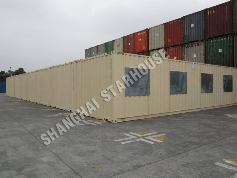 Modified Containers for Office / camp / works