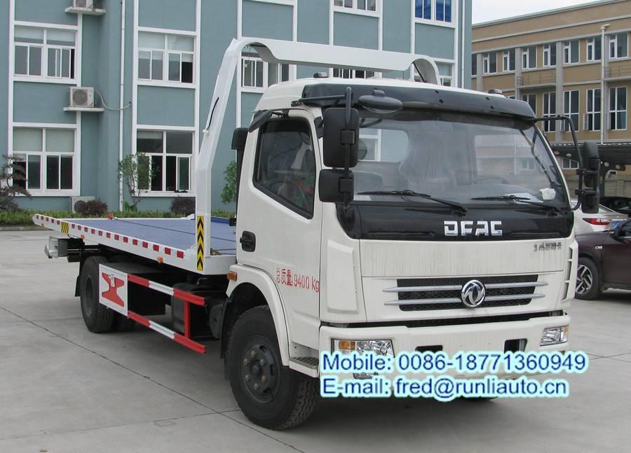 DFAC 3-5 tons wrecker truck