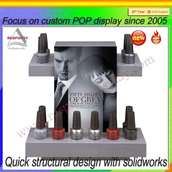 2015 new product acrylic nail polish display stand