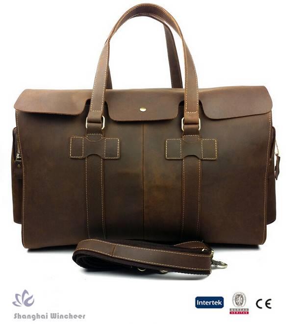 2015 Hot-selling Genuine Leather Handbag for men in high quality grade