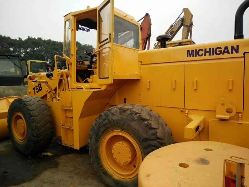 used wheel TCM loader