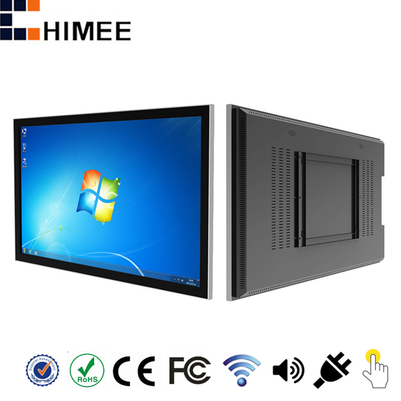 HQ47EW-C1-T 47 inch wall touch all in one android windows computer