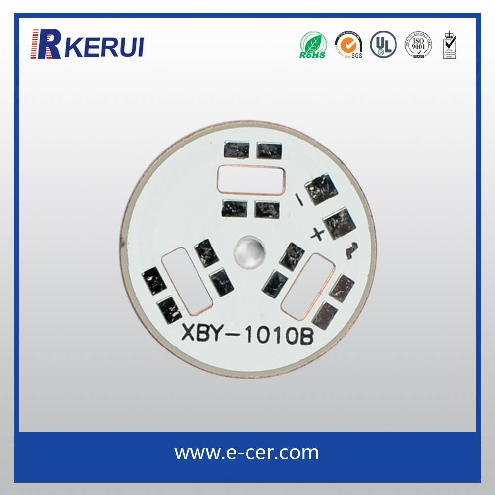 CE ROHS qualified mcpcb for high power LED lights
