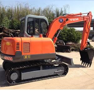 Small crawler excavator 60-8