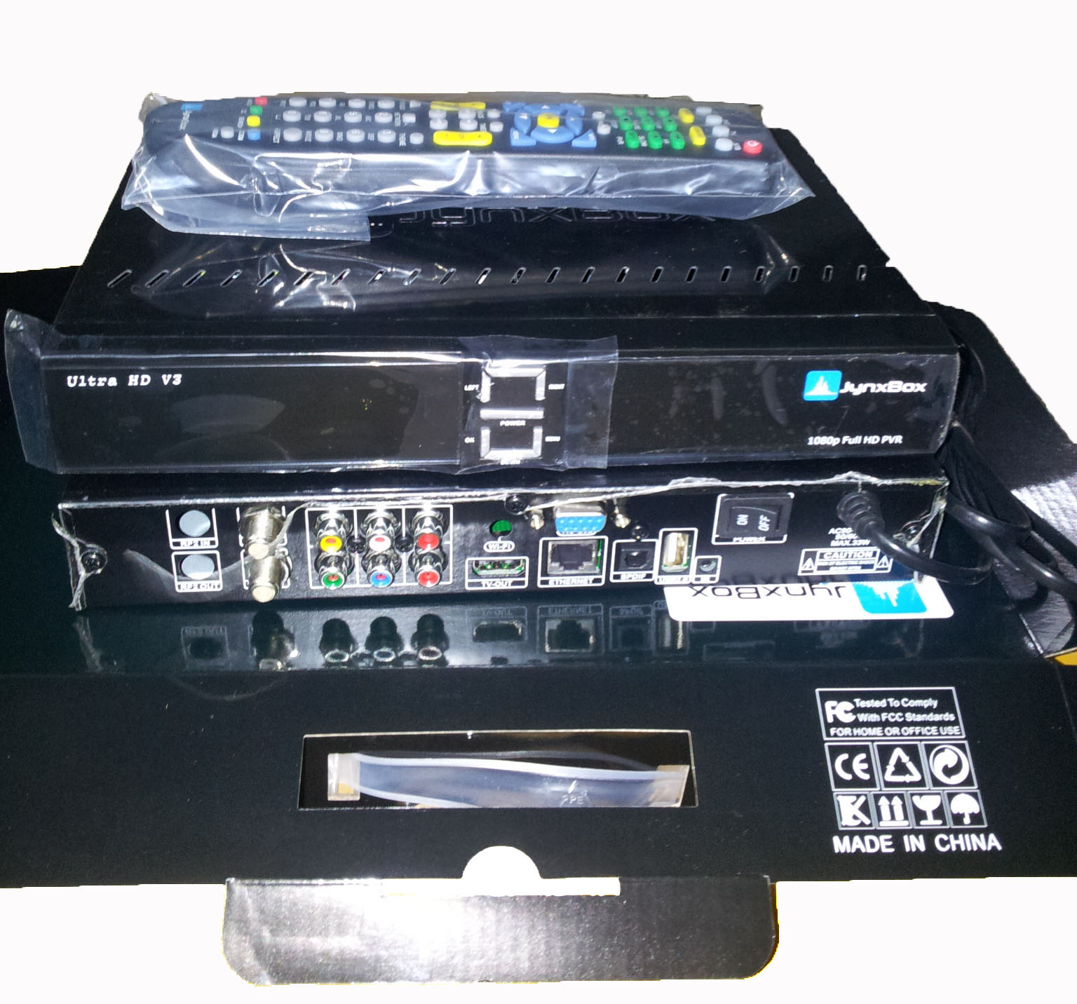 North America satellite receiver Jynxbox V3 Ultra hd with Jb200 module V3
