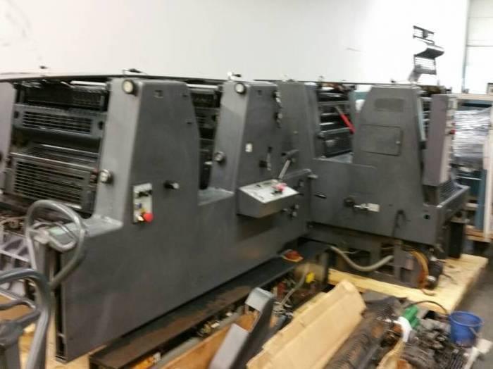 Heidelberg GTO 52-4 Plus