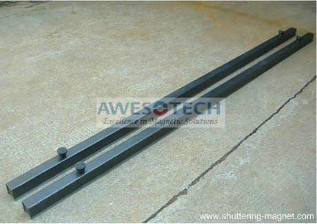 U60 Shuttering Profile With Formwork Magnets