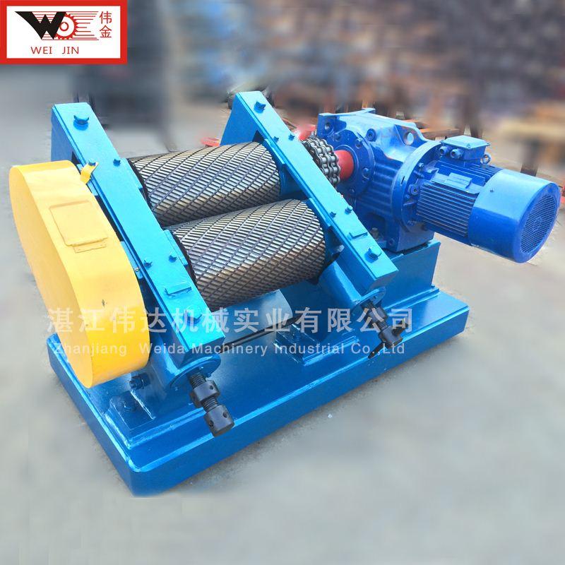press rubber materials crepe machine