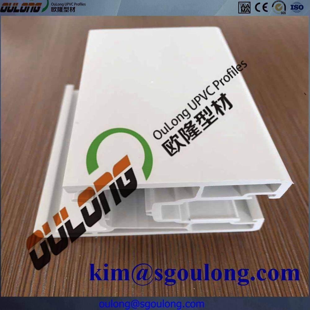 PVC Window Profile/PVC Plastic Frame/UPVC Profile for Window and Door