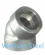 Supply Duplex Stainless Steel S31500. S31803. S32304. S32205. S32760. S32750 Socket Elbow45°