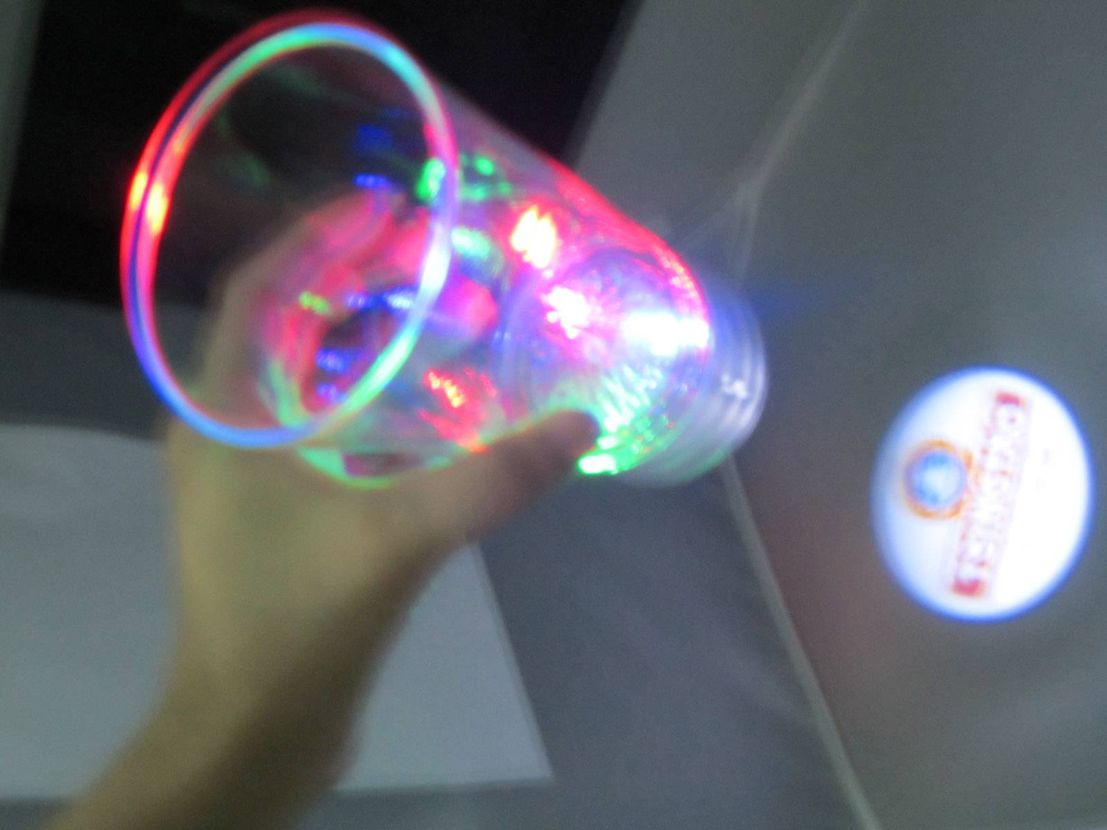 LED project cup