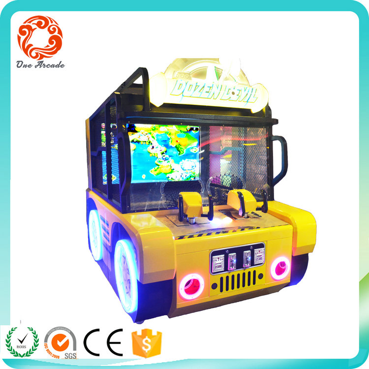 2017 latest kids shooting game Dozen Devil kids game machine for sales