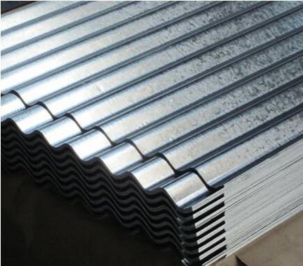 Galvanized Corrugated Steel Sheet , Roofing Sheet