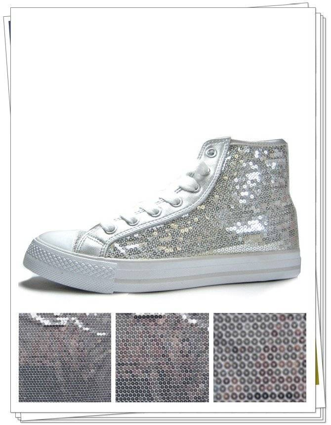 all over the sequin embroidery fabric