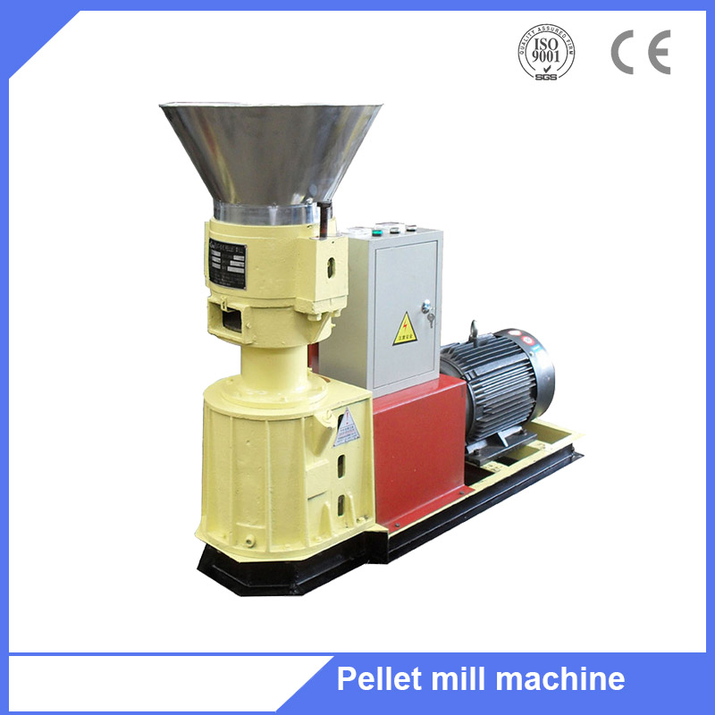 Small family home use wood log sawdust pellet mills for pellets fuel