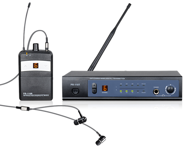 Pr-110 Professional in Ear Wireless Monitor System