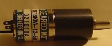 TE16KM-12-576/Micro geared motor