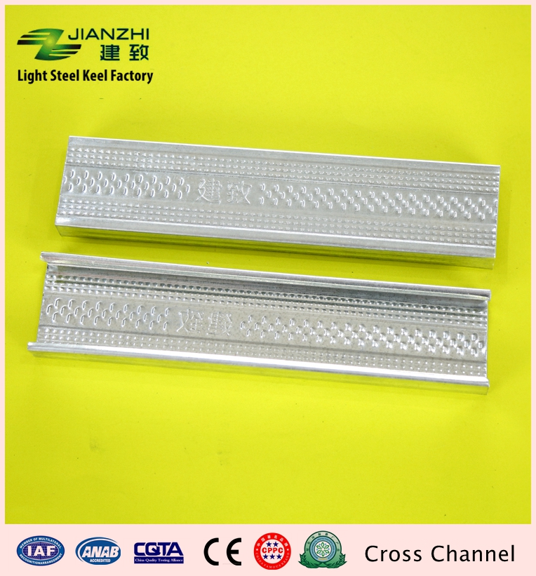 Cheap sale 50/17mm ceiling cross runner secondary channel
