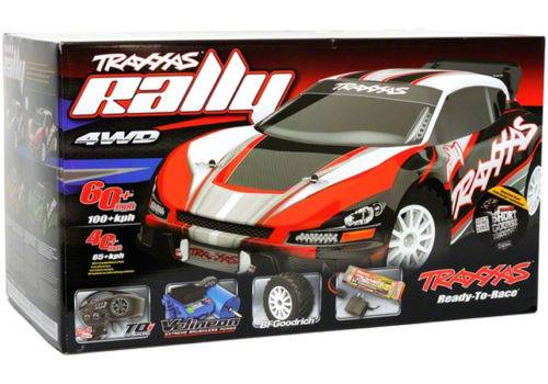 New Traxxas 1/10 7407 Rally Brushless Ready to Run with TQi 2.4 GHz Radio