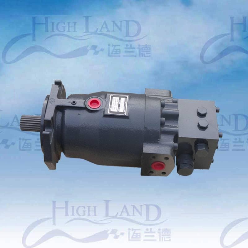 hydraulic motor for construction machine