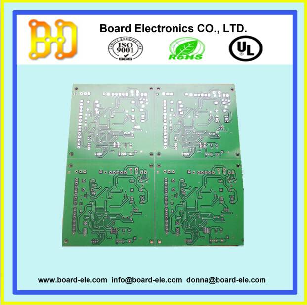 2 layers custom pcb with FR4 material