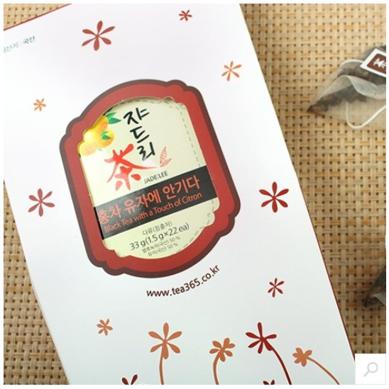 [JADE:LEE] Black Tea with a Touch of Citron Tea Bag