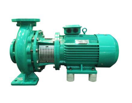 Horizontal short shaft suction pump