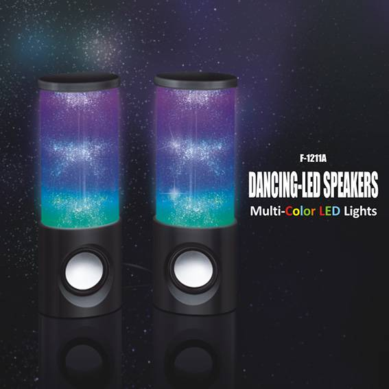 color LED Light -show speaker ,mini speakers with Pulse Light