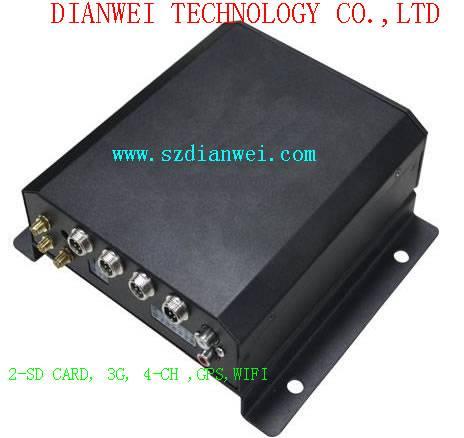 3G.4-CH.2SD-CARD.1SIM-CARD of Mobile DVR