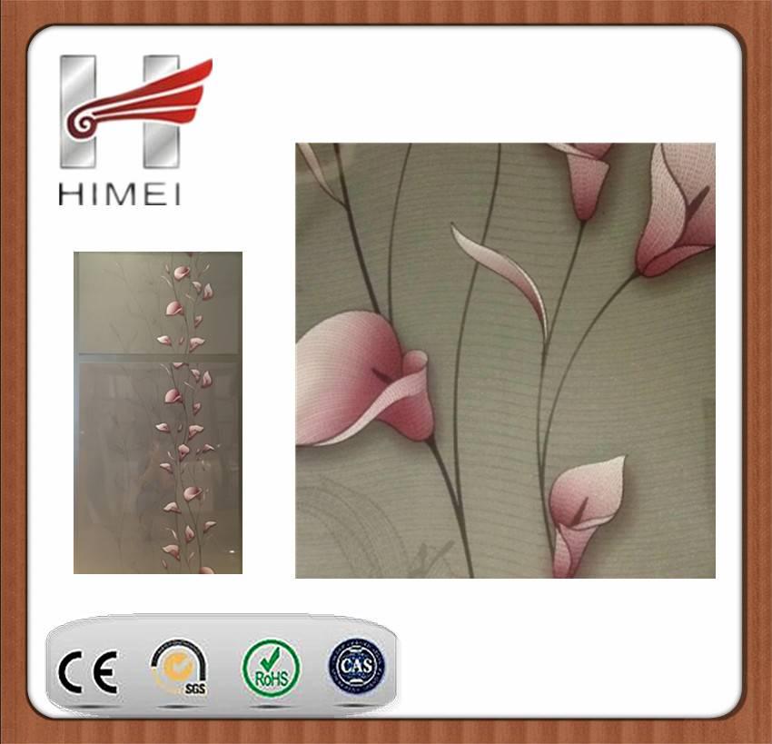 PVC film laminating sheet for refrigerator door