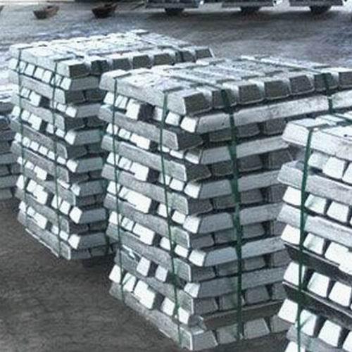 Zinc Ingots, Lead Ingots, Copper Ingots, Aluminum Ingots, Steel Ingots.