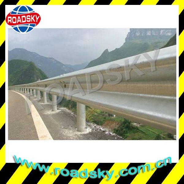 AASHTO Highway Galvanized Metal Beam Gaurdrail