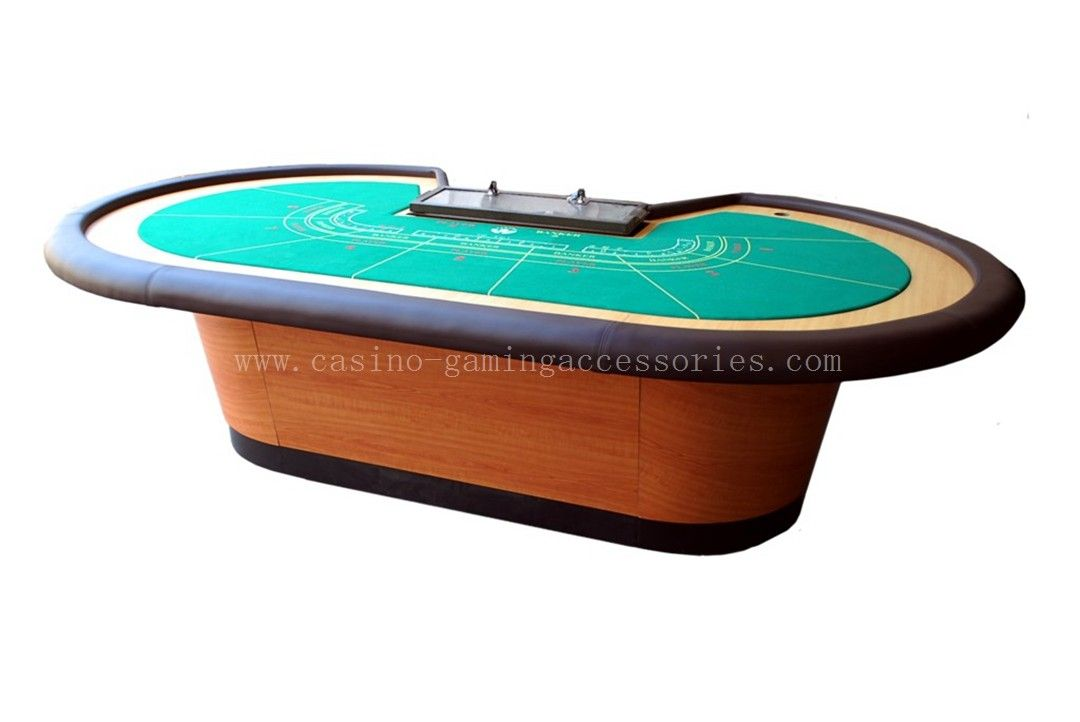 Half Round Gambling Table , Majestic High Quality Fireproof Table
