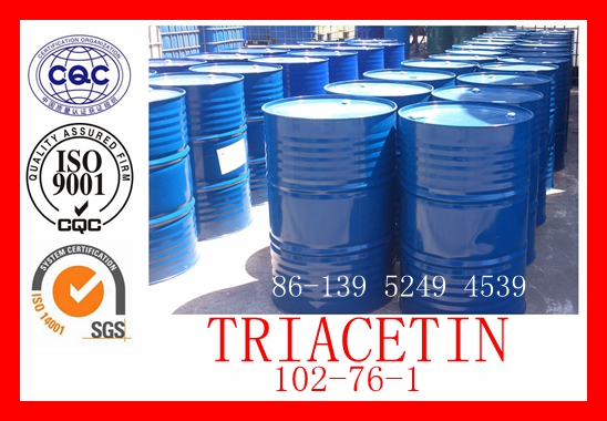 Triacetin for foundry