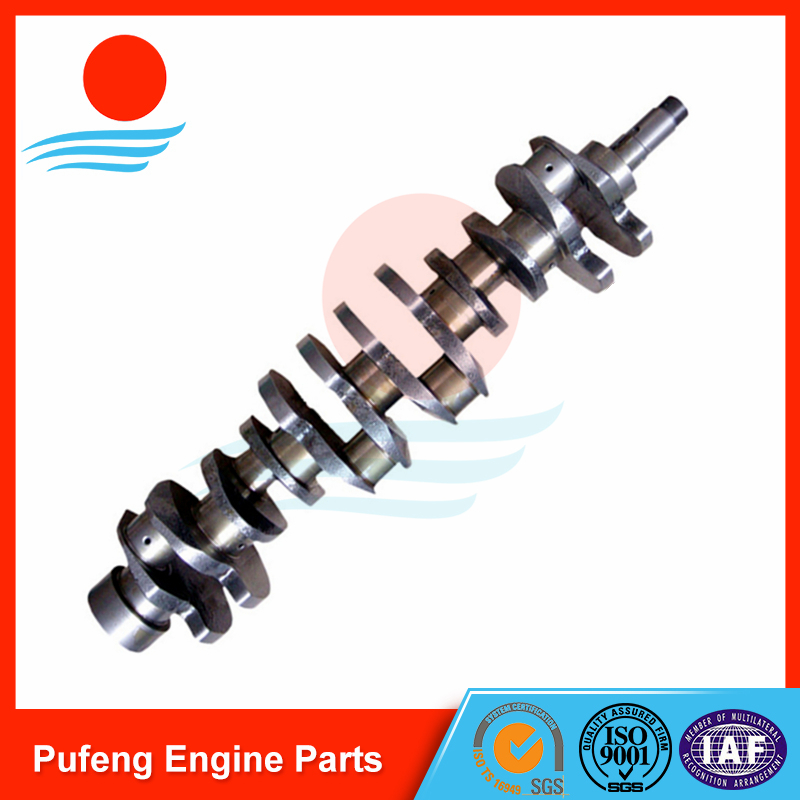 ISUZU 6BD1 Crankshaft 1123104370 for forklift excavator UH06-5 EX200-1 EX200-2 SH200