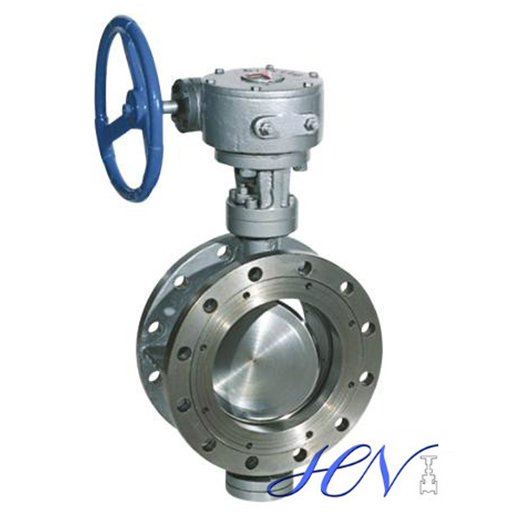 Flange Type Double Eccentric Butterfly Valve for Flow Control