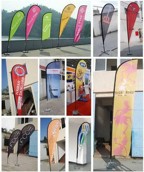 Advertising Beach Flags