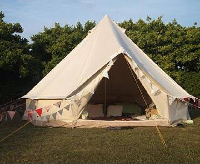 High Quality Canvas Camp Bell Tents