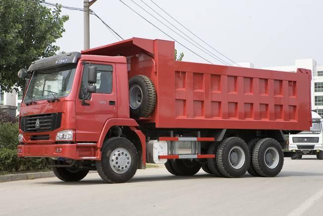 dump truck 6x4 HOWO GOLDPRINCE