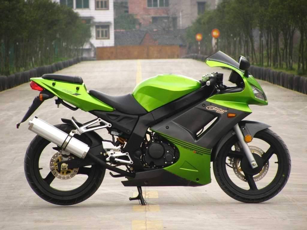 KAWASAKI style Street Racing bike EM250-5A