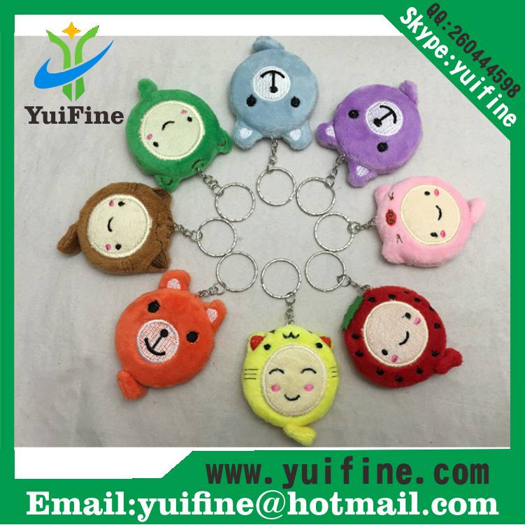 Plush Animal Cartoon Measuring Tape Retractable 1.5m/60inch Ruler Sewing Tool/Cute Tape Measure Toy