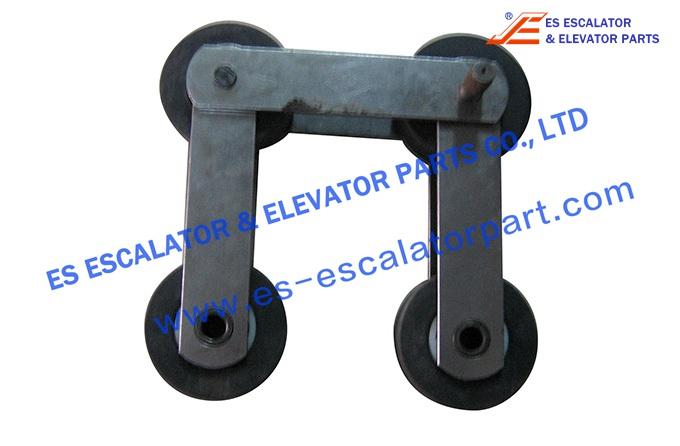 Kone Step Chain DEE3685365 Lubrication-free, 13KV-SF, P=133.33mm, Roller 7523.5mm