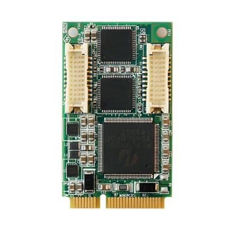 Mini PCI-e 2-port 10/100/1000 Ethernet board